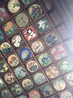 八劔神社の天井絵の写真・画像素材[3824344]