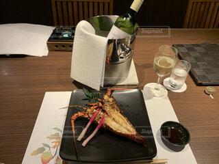 伊勢海老料理の写真・画像素材[3831989]