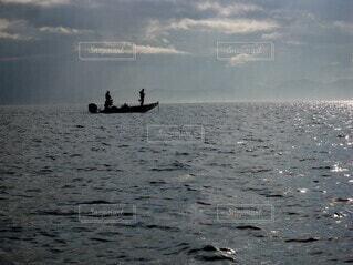 ブラックバス釣りの写真・画像素材[3955241]