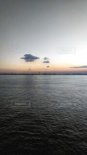 静かな海。の写真・画像素材[4928275]