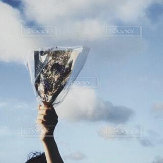 空に花束をの写真・画像素材[3874724]