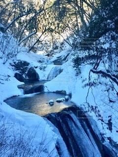 西沢渓谷 冬の写真・画像素材[3843801]