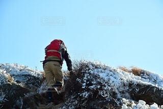 那須岳 登山の写真・画像素材[3843978]