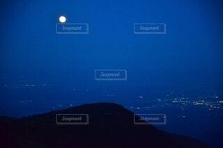 那須岳 夜空の写真・画像素材[3843979]