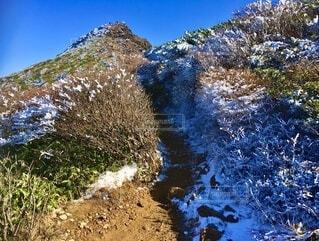 那須岳 登山 ハイキングの写真・画像素材[3889062]