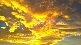 朝焼けに染まるの写真・画像素材[3942535]