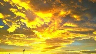綺麗な朝焼けの写真・画像素材[3942536]