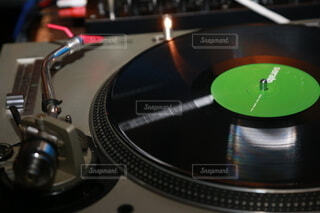 レコードの写真・画像素材[3846367]
