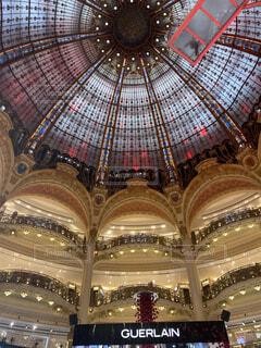 パリ 有名百貨店の写真・画像素材[3847573]