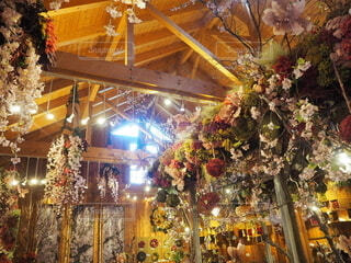 アンティークなお花屋さんの写真・画像素材[3848793]