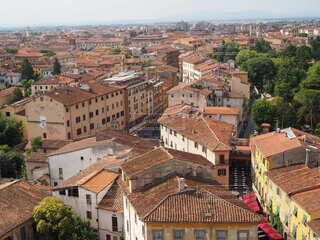 イタリアの下町の写真・画像素材[3849877]