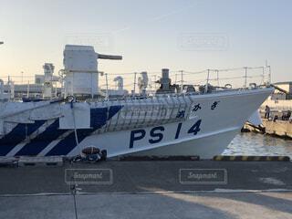 巡視船のあかぎですの写真・画像素材[3892812]