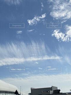 雲のダンスの写真・画像素材[3953940]