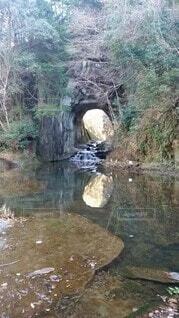 千葉県君津市にある隠れた秘境の写真・画像素材[3867216]