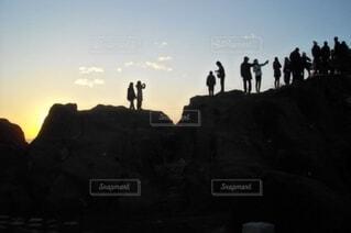 日の出の写真・画像素材[3869560]