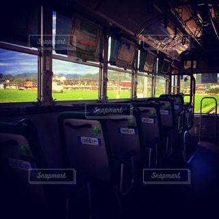 バスの車内からの写真・画像素材[162416]