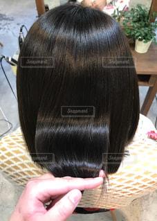 艶のある髪の写真の写真・画像素材[1702661]