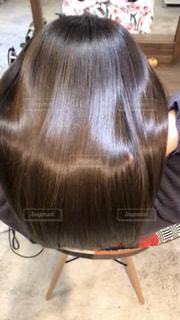 艶のある髪の写真の写真・画像素材[2201897]