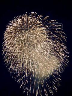 空の花火の写真・画像素材[4416536]