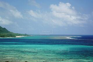 青い海の写真・画像素材[3886123]