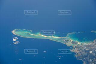 飛行機からの景色の写真・画像素材[4796133]