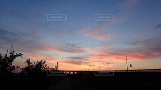 夕焼けの写真・画像素材[655768]