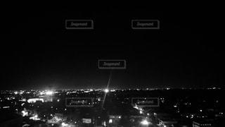 日没後の富山湾の写真・画像素材[1561379]