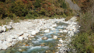 河川の流れの写真・画像素材[1571238]