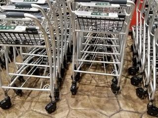 ショッピングカートの写真・画像素材[3882122]