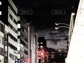 ミステリアスな夜空の写真・画像素材[3911447]