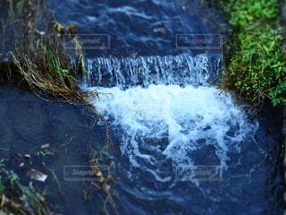 川の流れの写真・画像素材[3911521]