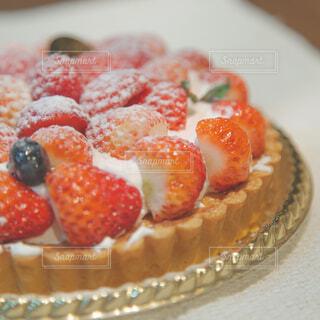 苺のタルトの写真・画像素材[4254918]
