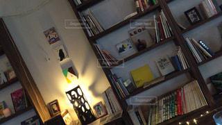 クローズ アップ図書の棚の - No.720217