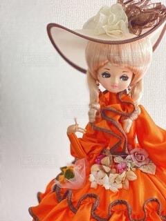 頂き物のお人形さん。の写真・画像素材[4159613]