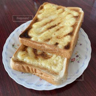 本日の朝食。の写真・画像素材[4380724]