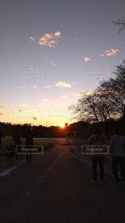 日の出の写真・画像素材[4529651]