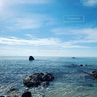 海岸沿いの風景の写真・画像素材[3903762]