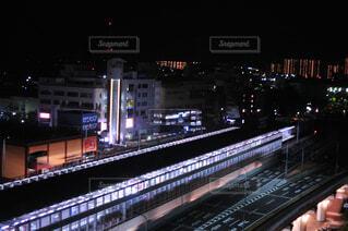 夜の街の写真・画像素材[4028612]