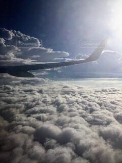 空の旅の写真・画像素材[3930132]
