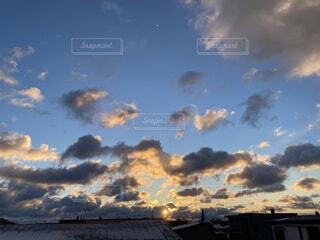 空と雲の写真・画像素材[4114629]