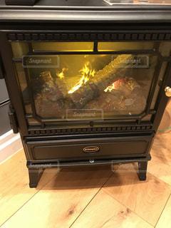 電子暖炉の写真・画像素材[911918]