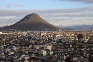 丸亀城天守からの景色の写真・画像素材[4080806]