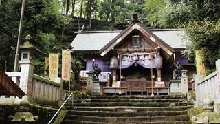 妙義山中之嶽神社の写真・画像素材[4097136]