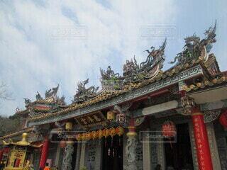 台湾の恵済宮の写真・画像素材[4243289]