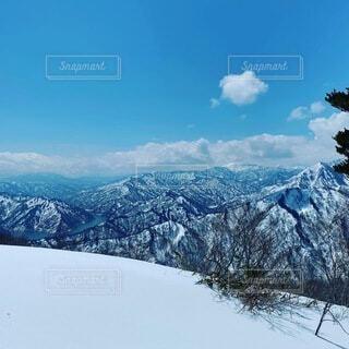 雪山の写真・画像素材[3929708]