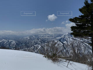 雪山の写真・画像素材[3929712]
