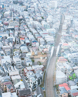 都市の空中写真の写真・画像素材[997542]