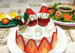 クリスマスケーキの写真・画像素材[3936293]