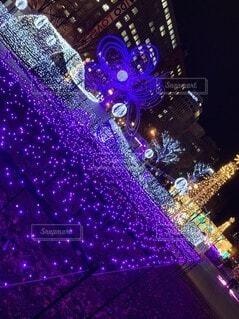 札幌大通公園イルミネーションの写真・画像素材[3954431]