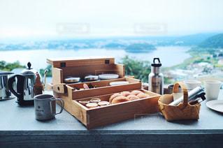 星のや富士 朝食の写真・画像素材[1030428]